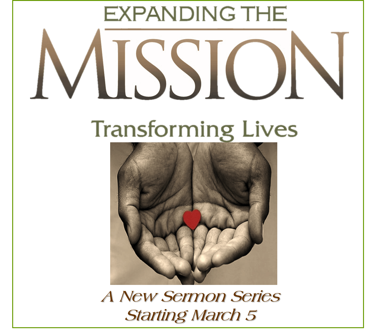 Expanding the Mission Sermon Series